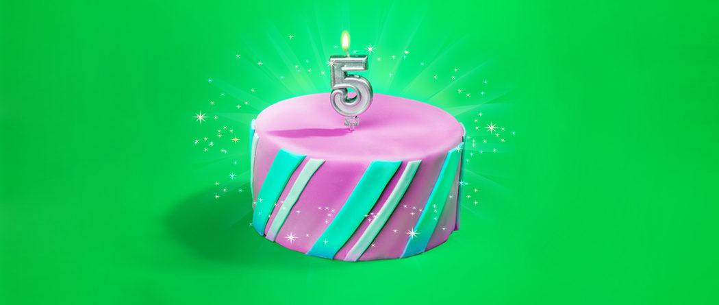 تولد ۵ سالگی اسنپ