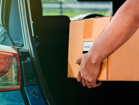 ارسال بسته